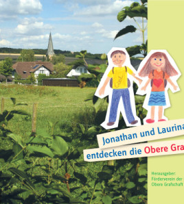 """Heimatbuch für Kinder """"Jonathan und Laurina entdecken die Obere Grafschaft"""""""